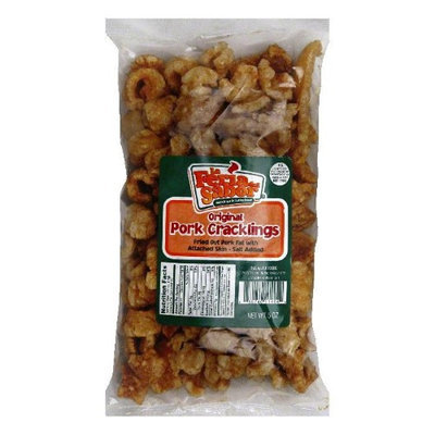 La Fuerza Pork Cracklings, 5-Ounce Bags (Pack of 15)