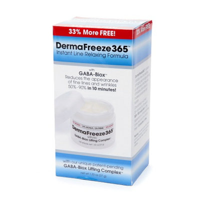 DermaFreeze365 Instant Line Relaxing Formula with GABA-Biox