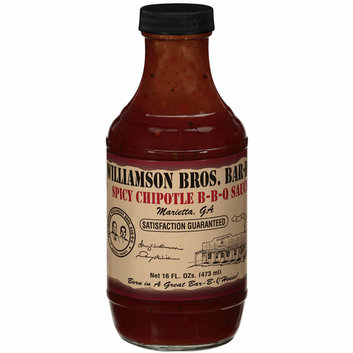 Williamson Bros Bar-B-Q Spicy Chipotle Bar-B-Q Sauce