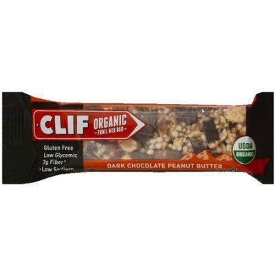 CLIF Organic Dark Chocolate Peanut Butter Trail Mix Bar, 1.41 oz, (Pack of 12)