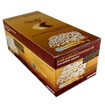 Apex Fitness Apex Iced Cinnamon Roll Breakfast Square - 12 Box