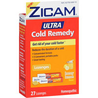 MISC BRANDS Zicam Honey Lemon Ultra Cold Remedy Lozenges