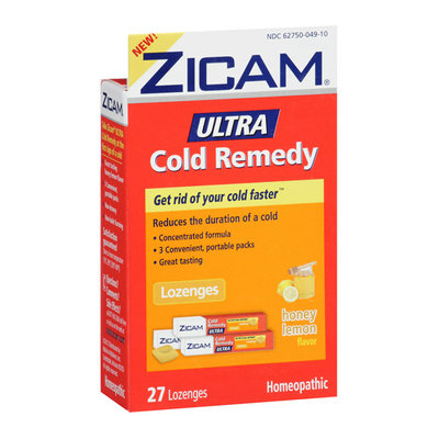 MISC BRANDS Zicam Honey Lemon Ultra Cold Remedy Lozenges
