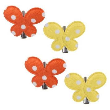Remington Butterfly Hair Clips - Polka Dot