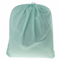 Blueberry Solid Colors Diaper Laundry Bag, Mint Blue