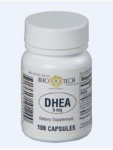 DHEA 5 mg 100 caps by Bio-Tech