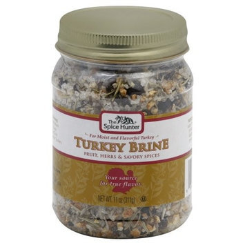 Spice Hunter Spice: Brine, Turkey, 11 OZ