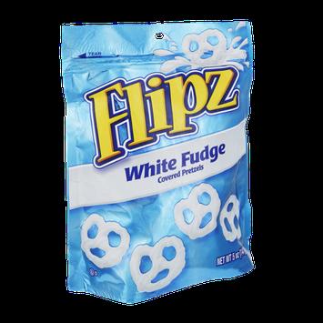 Flipz White Fudge Covered Pretzels