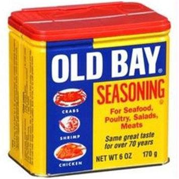 Old Bay B80284 Old Bay Seasoning Original Tin -12x6oz