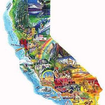 SunsOut Sun & Fun California 1000 Piece Puzzle Ages 10+, 1 ea