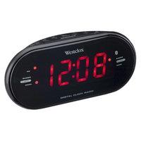Westclox Bluetooth LED Clock Radio