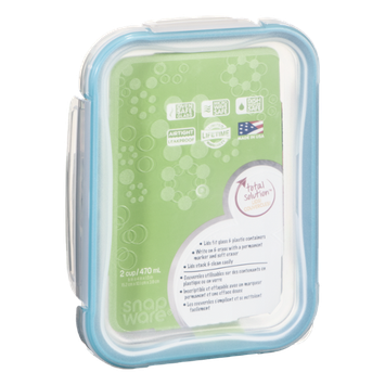Snapware Pyrex Glass Spillproof Food Keeper 2-Cup