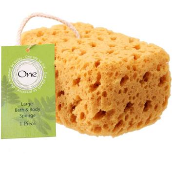 One Large Bath Sponge