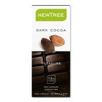 Newtree TREE Dark Chocolate, 2.82-Ounce Bars (Pack of 12)