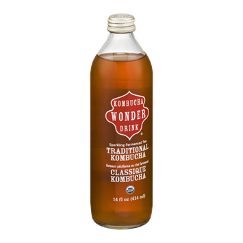 Kombucha Wonder Drink Sparkling Fermented Tea Traditional Kombucha