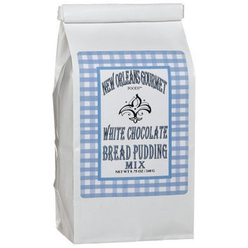 New Orleans Gourmet Foods Orleans Gourmet Foods White Chocolate Bread Pudding Mix, 8.75-Ounce Bags (Pack of 3)