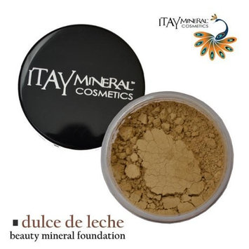 Itay Beauty Mineral Cosmetics Itay Beauty 100% Natural Mineral Foundation Color :Mf-5 Dulce De Leche + Longlasting Black Eye Liner