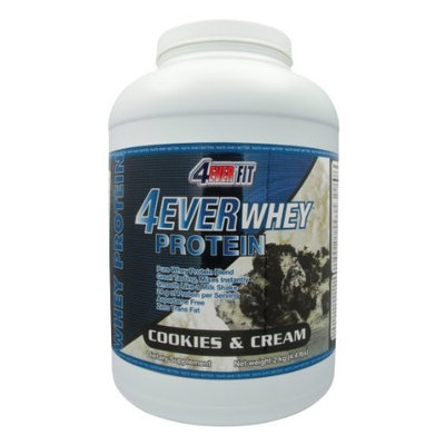 4Ever Fit Whey Protein, Cookies and Cream, 4.4-Pound