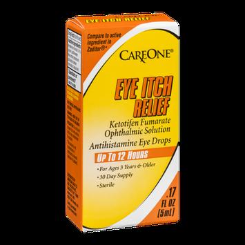 CareOne Antihistamine Eye Drops Eye Itch Relief