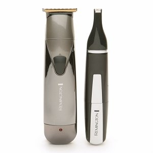 Remington Professional Beard & Goatee Groomer with Nose & Ear Trimmer