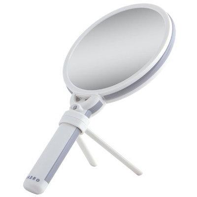 Zadro Lighted Swivel Hand Mirror, 1x/10x