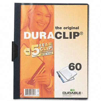 Durable Duraclip 30 Report Covers, 8 1/2in. x 11in, Navy