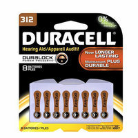 Duracell Hearing Aid Zinc Air Batteries #312