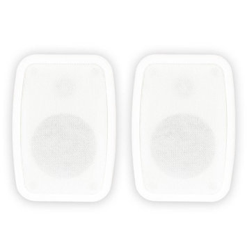 Theater Solutions TS4ODB 150 W RMS Indoor/Outdoor Speaker - 2-way - White - 80 Hz to 20 kHz - 8 Ohm