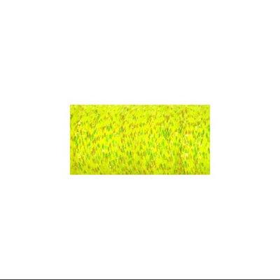 Kreinik Very Fine Metallic Braid #4 11 Meters (12 Yards)-Lemon Grass