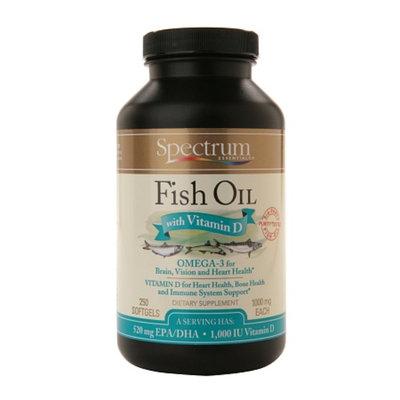 Spectrum Essentials Fish Oil with Vitamin D