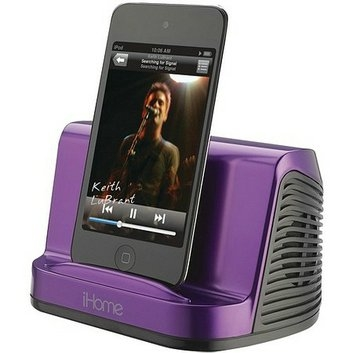 iHome iPadiPodMP3 Player Portable Stereo Speaker System