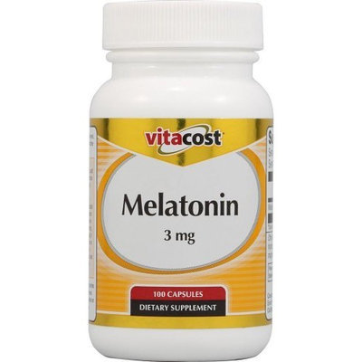 Vitacost Brand Vitacost Melatonin -- 3 mg - 100 Capsules