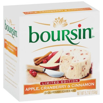 Boursin Apple Cranberry & Cinnamon Gournay Cheese, 5.2 oz