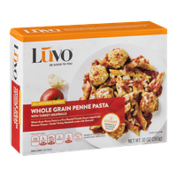 Luvo Whole Grain Penne Pasta with Turkey Meatballs