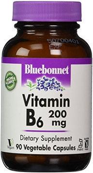 Vitamin B-6 200mg Bluebonnet 90 Caps