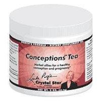 Crystal Star Conceptions Tea - 3 oz - Bulk