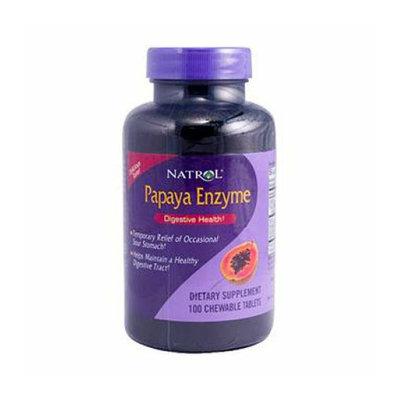 Natrol Papaya Enzyme 100 Chewable Tablets