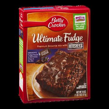 Bettty Crocker Ultimate Fudge Brownie Mix