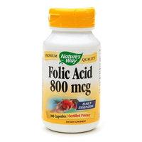 Nature's Way Folic Acid 800mcg