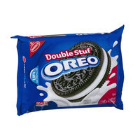 Oreo Double Stuf Chocolate Sandwich Cookies