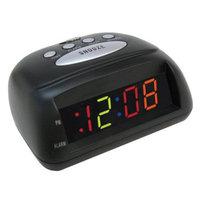 Room Essentials Multi-Display LED Alarm Clock - Black