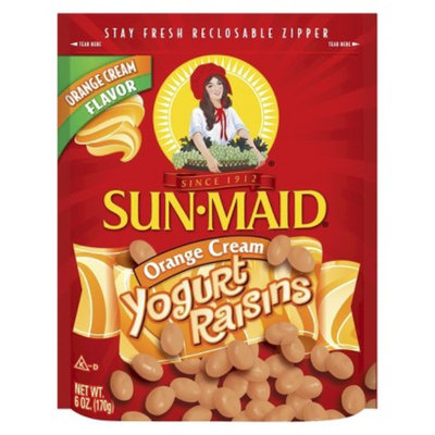 SUN-MAID Sun Maid Orange Cream Yogurt Raisins 6 oz