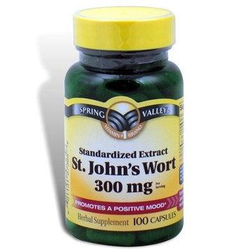 Spring Valley - St. John's Wort 300 mg, 100 Capsules