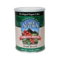 Cafe Altura Dark Roast, 12-Ounce (Pack of 6)