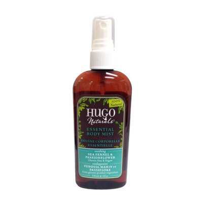 Hugo Naturals - Essential Body Mist Soothing Sea Fennel & Passionflower - 4 oz.