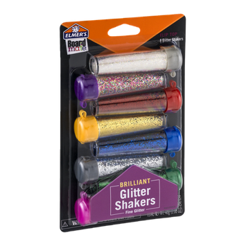 Elmer's Board Mate Brilliant Glitter Shakers Fine - 8 CT