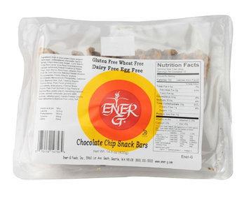 Ener-G Chocolate Chip Snack Bars, 14.8 oz, 2 pk