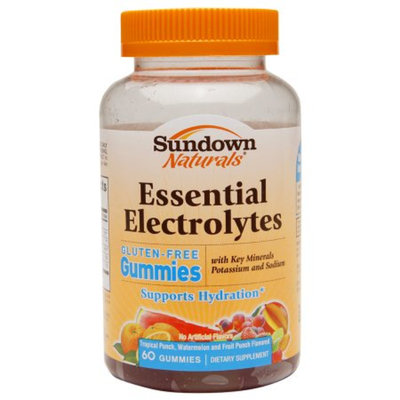 Sundown Naturals Sundown Natural Electrolyte Gummies - 60 Count