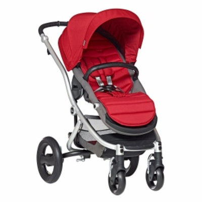 Britax Affinity Complete Stroller, Red Pepper, Silver, 1 ea