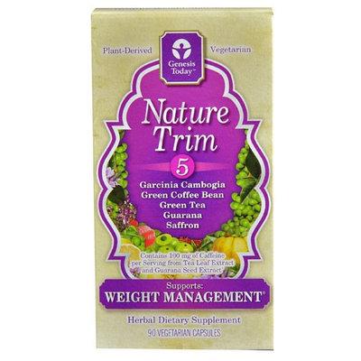 Genesis Today - Nature Trim 5 - 90 Vegetarian Capsules